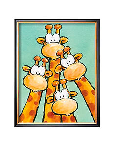 Art.com Funny Friends II Framed Art Print - Online Only