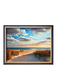 Art.com Sunset Beach, Framed Art Print - Online Only