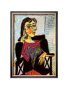 Art.com Portriat of Dora Maar, c. 1937 Framed Art Print Online Only