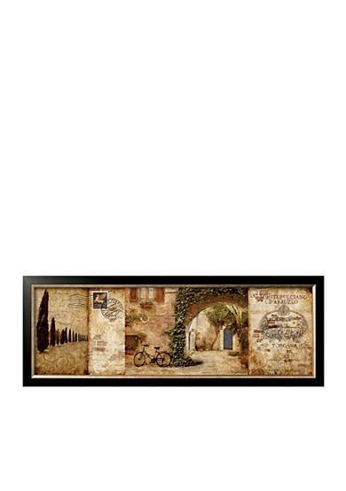 Artcom Tuscan Soutyard Framed Art Print Online Only Belk