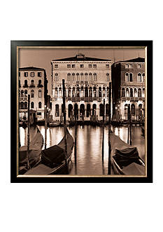 Art.com Il Gran Canale di Notte, Framed Art Print, - Online Only