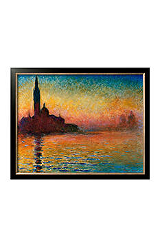 Art.com Sunset in Venice Framed Art Print - Online Only