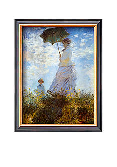 Art.com Madame Money and Her Son Framed Art Print Online Only