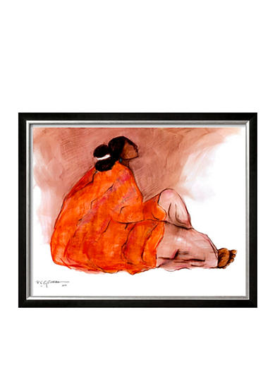 Art.com Seated Woman, Framed Art Print, - Online Only