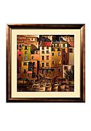 Art.com Mediterranean Gold Framed Art Print