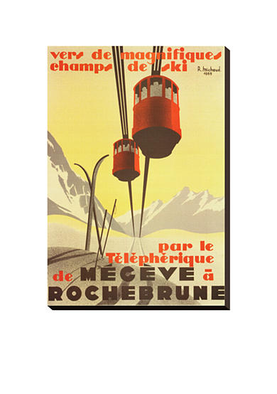 Art.com Megeve Stretched Canvas Print - Online Only