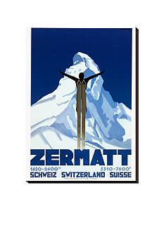Art.com Zermatt Stretched Canvas Print