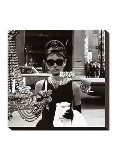 Art.com Audrey Hepburn, Stretched Canvas Print