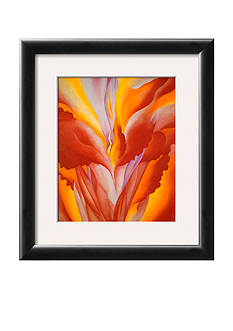 Art.com Red Canna, Framed Art Print, - Online Only