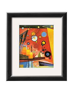 Art.com Heavy Red, Framed Art Print, - Online Only