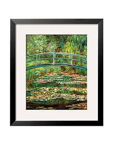Art.com Le Pont Japonais a Giverny, Framed Art Print - Online Only