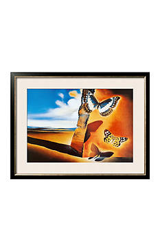 Art.com Landscape With Butterflies Framed Art Print - Online Only
