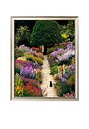 Art.com The Garden Cat Framed Art Print - Online