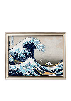Art.com The Great Wave at Kanagawa (From 36 Views of Mount Fuji), c.1829 Framed Art Print