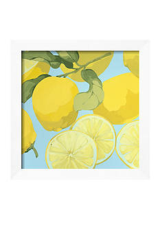 Art.com Fresh Lemons Framed Art Print