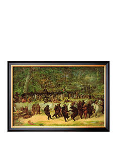Art.com The Bear Dance Framed Giclee Print - Online Only
