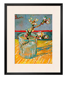 Art.com Blossoming Almond Branch In A Glass, C.1888 Framed Giclee Print - Online Only