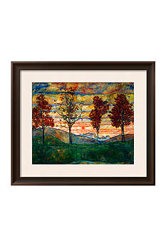 Art.com Four Trees, 1917 Framed Giclee Print - Online Only