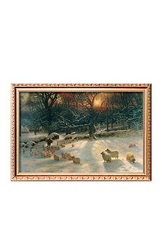 Art.com The Shortening Winter's Day Framed Giclee Print - Online Only