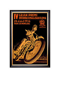 Art.com 4th International Barcelona Grand Prix, Framed Art Print - Online Only