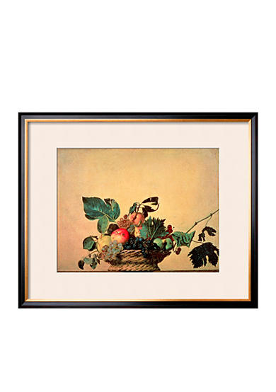 Art.com Basket with Fruit, Circa 1596 Framed Giclee Print  Online Only