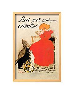 Art.com Lait Pur De La Vingeanne Sterilise Framed Giclee Print - Online Only