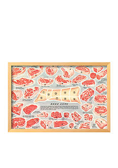 Art.com Cuts of Beef Cart Framed Giclee Print - Online Only