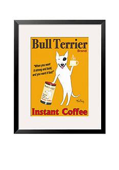 Art.com Bull Terrier Brand Framed Giclee Print Online Only