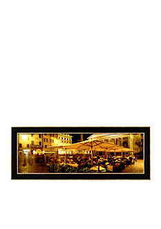 Art.com Cafe, Pantheon, Rome, Italy Framed Photographic Print - Online Only