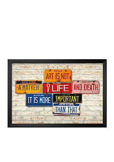 Art.com Life & Death, Framed Art Print