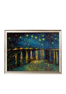 Art.com Starry Night Over the Rhone, c.1888, Framed Art Print, - Online Only