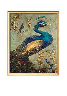 Art.com Peacock on Sage I, Framed Art Print - Online Only