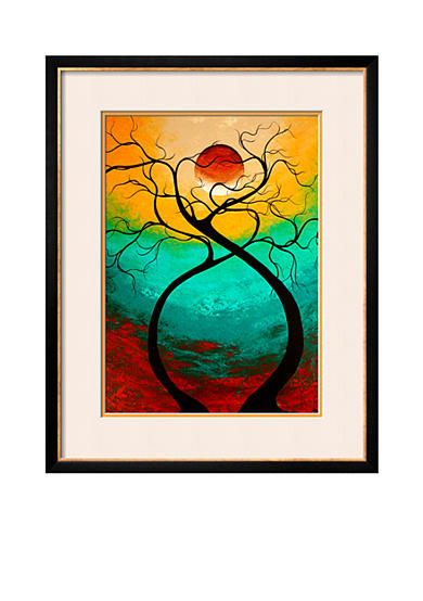 Art.com Twisting Love by Megan Aroon Duncanson, Framed Photographic Print