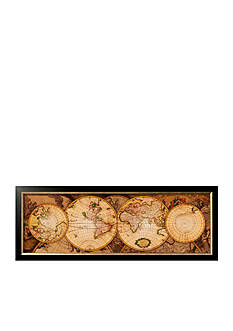 Art.com Map of the World: Nova Totius Terrarum Orbis, Framed Art Print, - Online Only