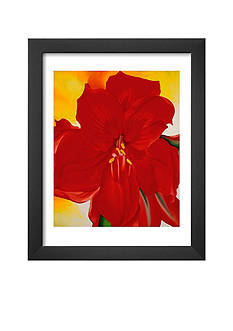 Art.com Red Amaryllis, c.1937 Framed Art Print