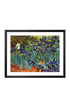 Art.com Garden of Irises Framed Art Print Online Only