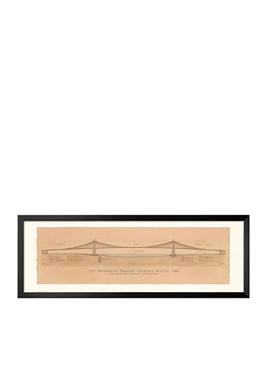 Art.com Brooklyn Bridge Framed Art Print - Online Only