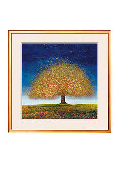 Art.com Dreaming Tree Blue, Framed Art Print - Online Only