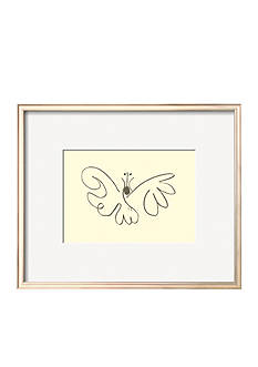 Art.com The Butterfly Framed Art Print - Online Only
