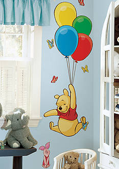 Art.com Winnie the Pooh - Pooh & Friends Peel & Stick Wall Decals Wall Decal - Online Only