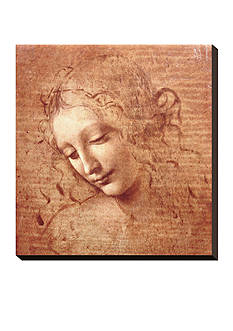 Art.com Female Head (La Scapigliata), c.1508, Stretched Canvas Print - Online Only