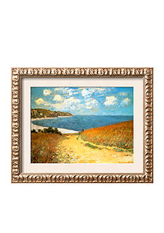 Art.com Path Through the Corn at Pourville, 1882, Framed Art Print - Online Only<br>