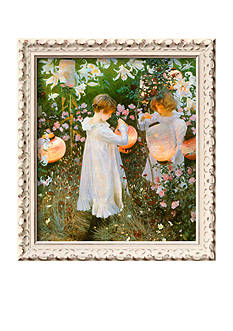 Art.com Chinese Lanterns, Girls, 1885, Framed Giclee Print, - Online Only