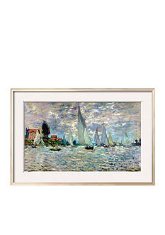 Art.com The Boats, or Regatta at Argenteuil, circa 1874, Framed Giclee Print, - Online Only