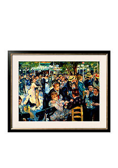 Art.com Ball at the Moulin De La Galette, 1876, Framed Giclee Print, - Online Only