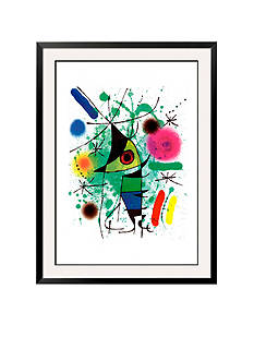 Art.com The Singing Fish, Framed Art Print