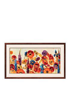 Art.com Joyful Garden, Framed Giclee Print