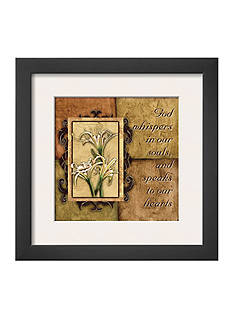 Art.com Tuscan 4 Patch: God Whispers, Framed Art Print, - Online Only