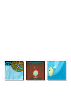 Art.com Trees Abstract Triptych, Canvas Art Set - Online Only