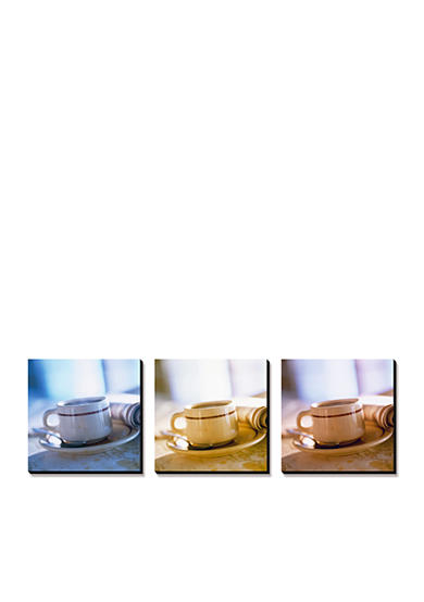 Art.com Coffee Cup Triptych, Canvas Art Set - Online Only<br>